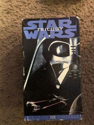 VHS Star Wars trilogy for Sale in Pasadena, CA