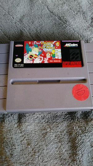 Super Nintendo SNES Krusty's super Funhouse read description for Sale in Victorville, CA