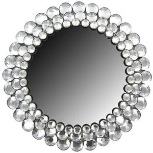 Large Round Rhinestone Accented Wall Mirror BNWT! for Sale in Las Vegas, NV
