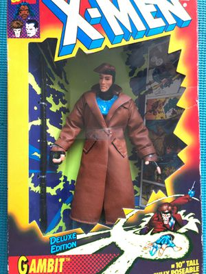 10 inch Gambit Action Figure! Retro 1994 X-Men Toy! In Box! for Sale in Moberly, MO