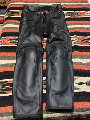 Dainese Alien leather motorcycle pants for Sale in Black Hawk, CO