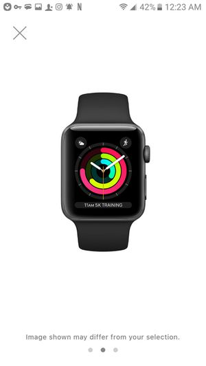Apple watch series 3 42mm Gps and with Apple credit for 2 years for Sale in Oakland Park, FL