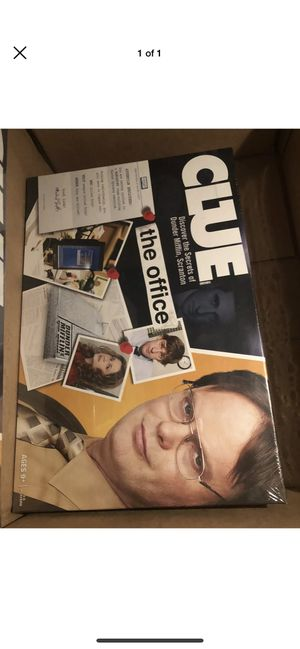 Clue The Office board game for Sale in Lacey, WA