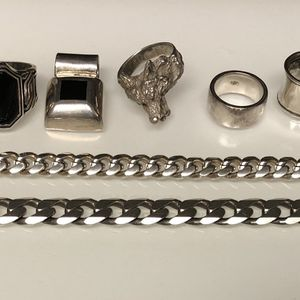 .925 Silver Jewelry Lot for Sale in New Bedford, MA