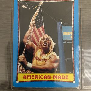 Wwf Classic Vintage Collectible Hulk Hogan Card for Sale in Los Angeles, CA
