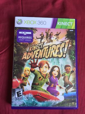 Kinect Adventures Game for Xbox 360 for Sale in San Diego, CA