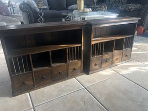2 antique mid century cabinets for Sale in Orlando, FL
