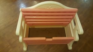 Rare Vintage Little Tikes Victorian Bench/ Storage for Sale in Frederick, MD