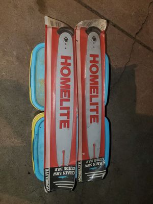 Homelite chainsaw bars for Sale in Lockport, IL