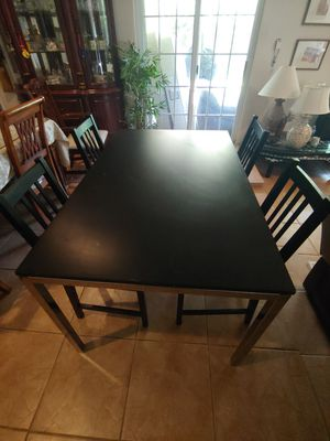 Dining table with 4chairs. for Sale in Dallas, TX