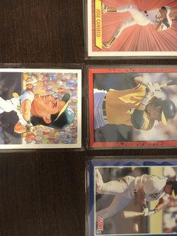 Jose Canseco Baseball Card Collection for Sale in Modesto,  CA