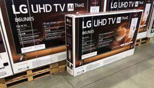 "86"" LG UHD Al ThinQ smart 4K Tv for Sale in Yucaipa, CA"