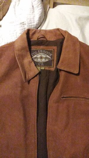 X-Large soft leather jacket/ Motorcycle-Bomber jacket style for Sale in St. Petersburg, FL