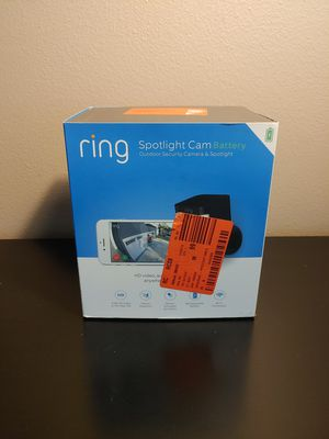Ring Spotlight Cam Battery Powered for Sale in San Diego, CA