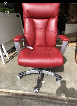Red Desk Chair - Sealy for Sale in Roanoke, VA