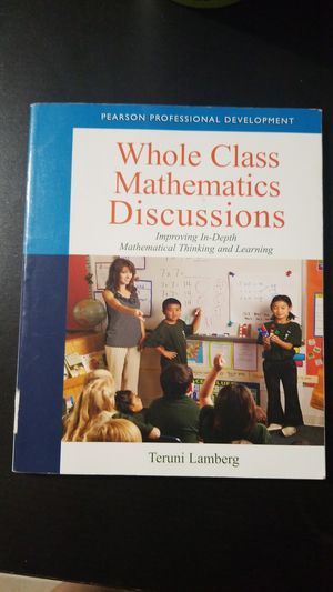 Whole Class Mathematics Discussion with Online Access Code for Sale in Miami, FL