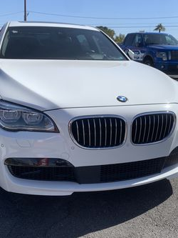 2014 White BMW 750 for Sale in Las Vegas,  NV