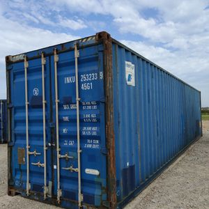 40'HC Wind & Water Tight Shipping Container For Sale for Sale in Houston, TX