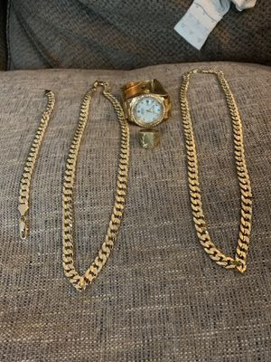 Gold plated jewelry for Sale in Akron, OH