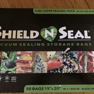 Shield N Seal Vacuum Sealing Storage Bags for Sale in San Jose, CA
