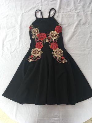 Black Floral Mini Dress for Sale in Miami, FL