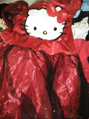 Hello Kitty costume with headband for Sale in Decatur, GA