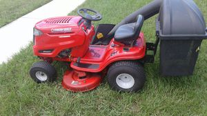 Troy-Bilt pony rider lawn mower with bagger system for Sale in Tarpon Springs, FL
