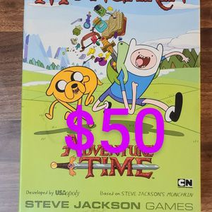 Munchkin Adventure Time Theme Board Game for Sale in San Diego, CA