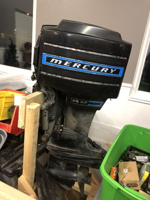 Mercury boat motor with controls for Sale in OH, US