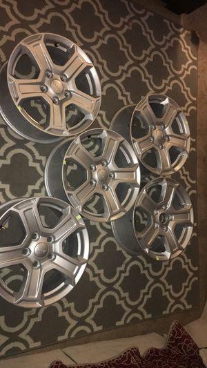 "2018 Jeep Wrangler Aluminum Factory 17"" Wheels for Sale in Alexandria, VA"