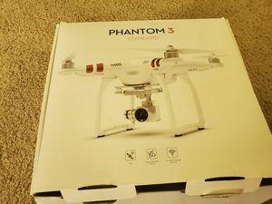 DJI Phantom 3 Standard Quadcopter Drone 2.7K HD Video Camera, White for Sale in San Diego, CA