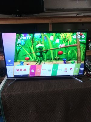 50 inch LG 4k smart tv LED with free neflix movies for Sale in Los Angeles, CA