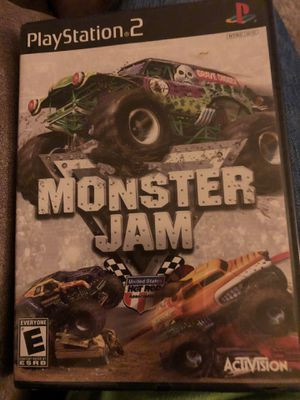 Monster Jam PS2 for Sale in Evansville, IN