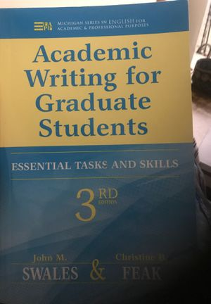 Academic writing for graduate students for Sale in Alexandria, VA