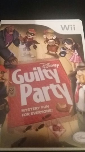 Disney's GUILTY PARTY (Nintendo Wii + Wii U) for Sale in Lewisville, TX