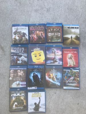Blue Ray movies for Sale in Whittier, CA