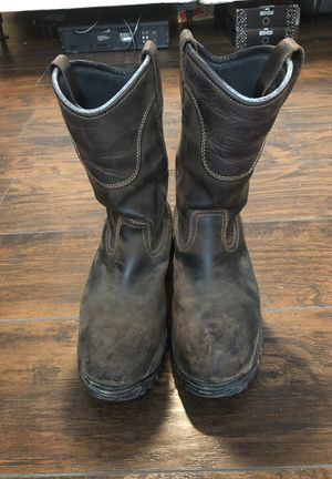 Irish Setter Steel Toe Work Boots 10.5 for Sale in Raleigh, NC