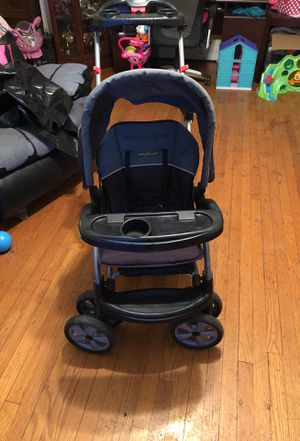 Sit to stand double stroller for Sale in St. Louis, MO