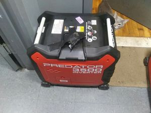 Predator 3500 gas generator for Sale in The Bronx, NY