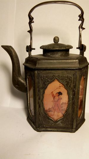 Rare Japanese Cast Iron Tea Pot for Sale in Spring, TX