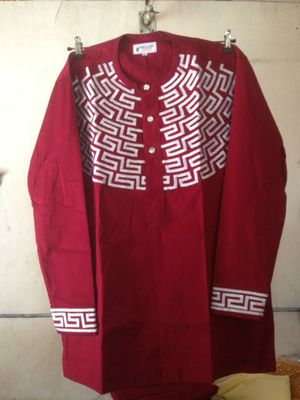 Men's African wear pant and top .- extra large for Sale in Baltimore, MD