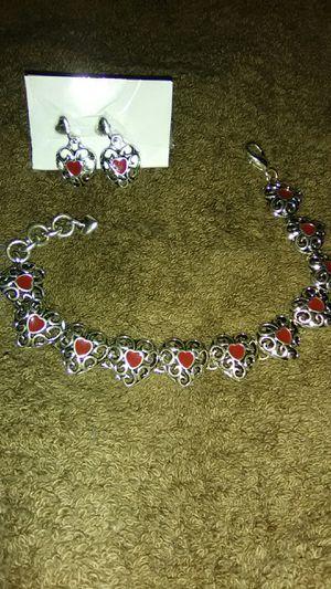 Premiere Jewelry Bracelet 8in. & Earring Set for Sale in Warren Park, IN