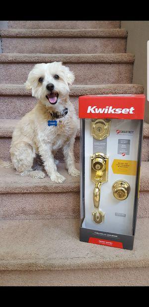 Kwikset front door handleset lock for Sale in Corona, CA
