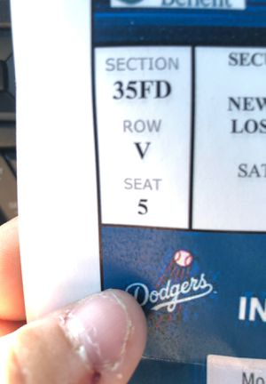 4 tickets to Yankees against dodgers Saturday 8-24-19. $1200 for Sale in Banning, CA