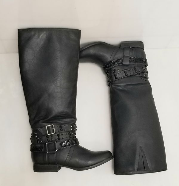 Not Rated Knee Boots 7M