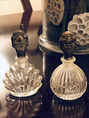 Vintage Crystal Parfumerie Decanters for Sale in Gainesville, VA