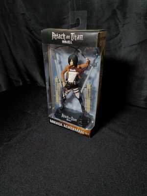 Mikasa Attack on Titan figure for Sale in Los Angeles, CA