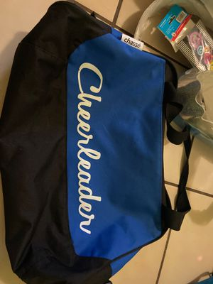 Chassé cheerleader duffle bag for Sale in Miami, FL