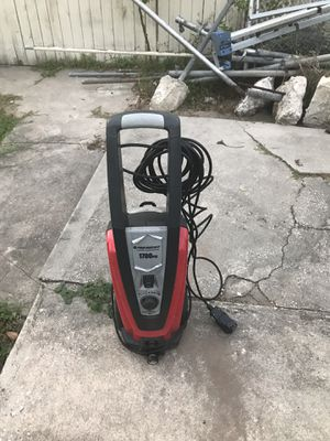 Pressure washer electric 1700 psi for Sale in Tampa, FL