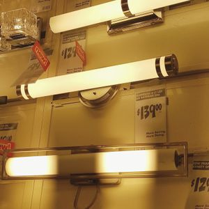 Classic Home Decorators Brushed Nickel LED Bath Light for Sale in Rockville, MD